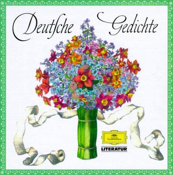 Deutsche Gedichte. 5 CDs als Hörbuch CD