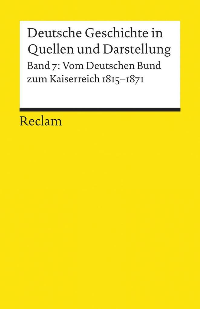Deutsche Geschichte 7 in Quellen und Darstellung als Buch (kartoniert)