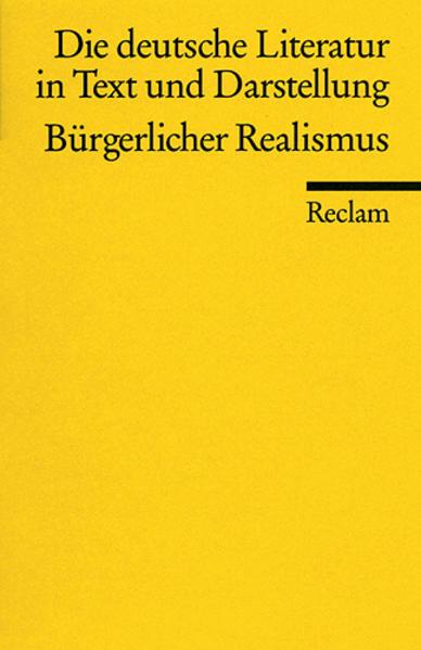 Die deutsche Literatur 11 / Bürgerlicher Realismus als Taschenbuch