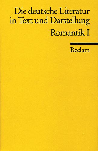 Die deutsche Literatur 8 / Romantik 1 als Taschenbuch