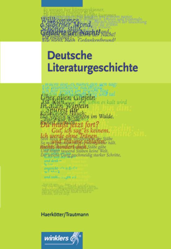 Deutsche Literaturgeschichte als Buch (kartoniert)