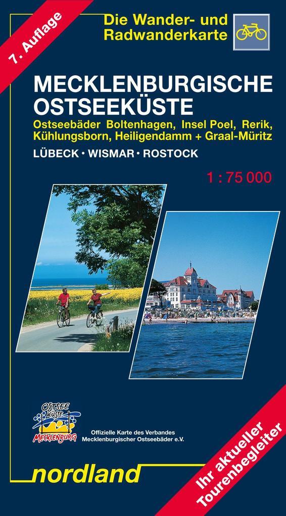 Mecklenburgische Ostseeküste Lübeck - Wismar - Rostock 1 : 75 000. Saison 2017-2019 als Blätter und Karten