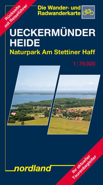 Deutsche Ostseeküste 08. Ueckermünder Heide / Oderhaff 1 : 75 000 als Blätter und Karten
