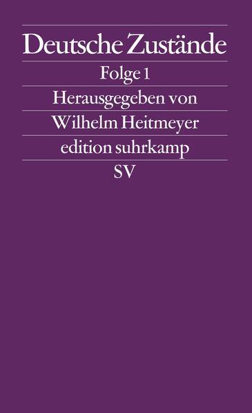 Deutsche Zustände. Folge 1 als Taschenbuch