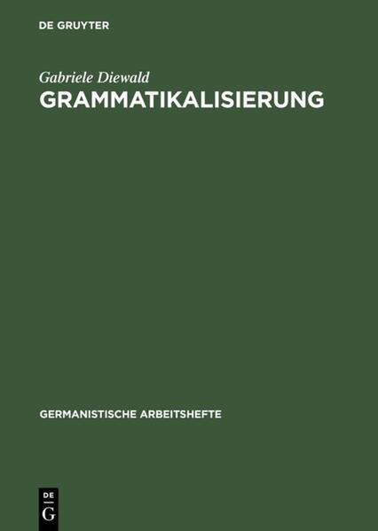 Grammatikalisierung als Buch (gebunden)