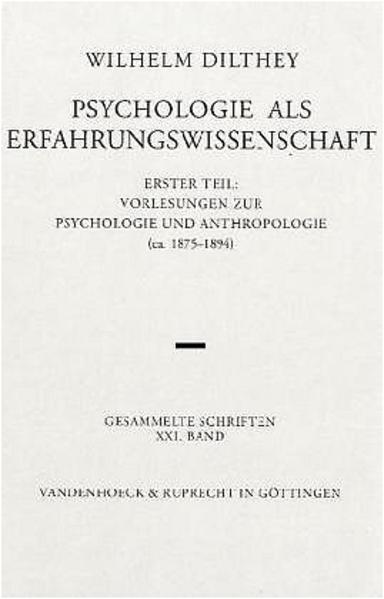 Psychologie als Erfahrungswissenschaft als Buch (kartoniert)