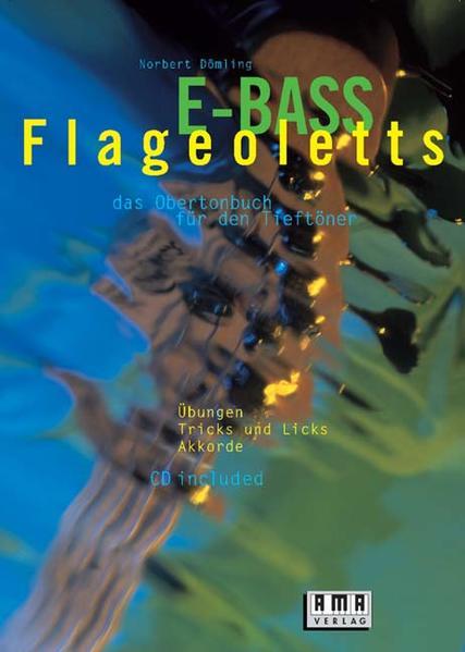 E-Bass-Flageoletts. Inkl. CD als Buch (kartoniert)