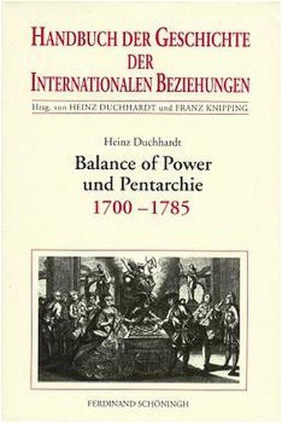 Balance of Power und Pentarchie als Buch (gebunden)