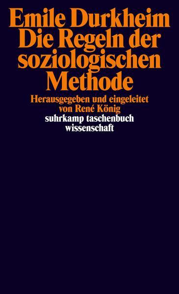 Die Regeln der soziologischen Methode als Taschenbuch