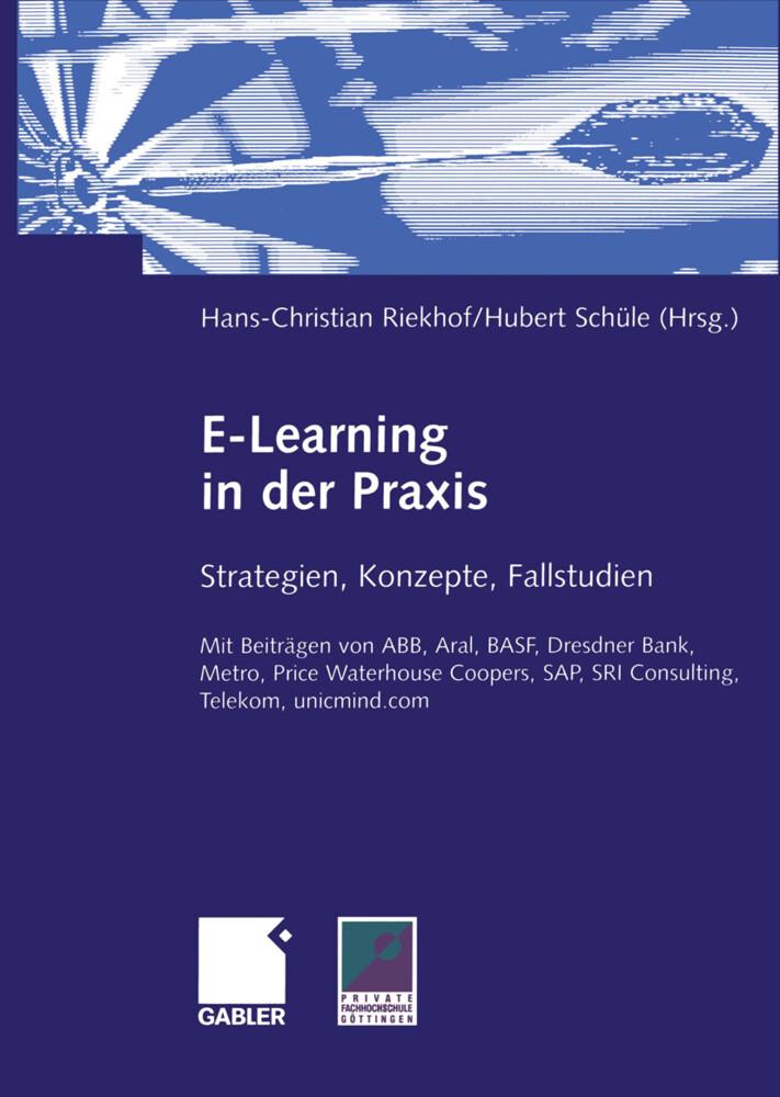 E-Learning in der Praxis als Buch (kartoniert)