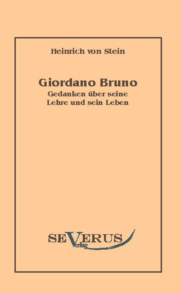 Giordano Bruno als eBook pdf
