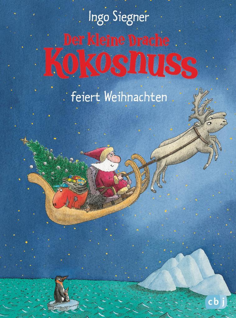 Der kleine Drache Kokosnuss besucht den Weihnachtsmann als eBook epub