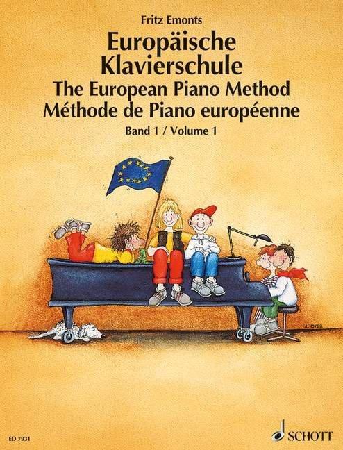 Europäische Klavierschule 1 als Buch (kartoniert)
