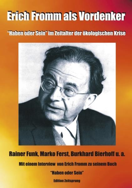 Erich Fromm als Vordenker als Buch (kartoniert)