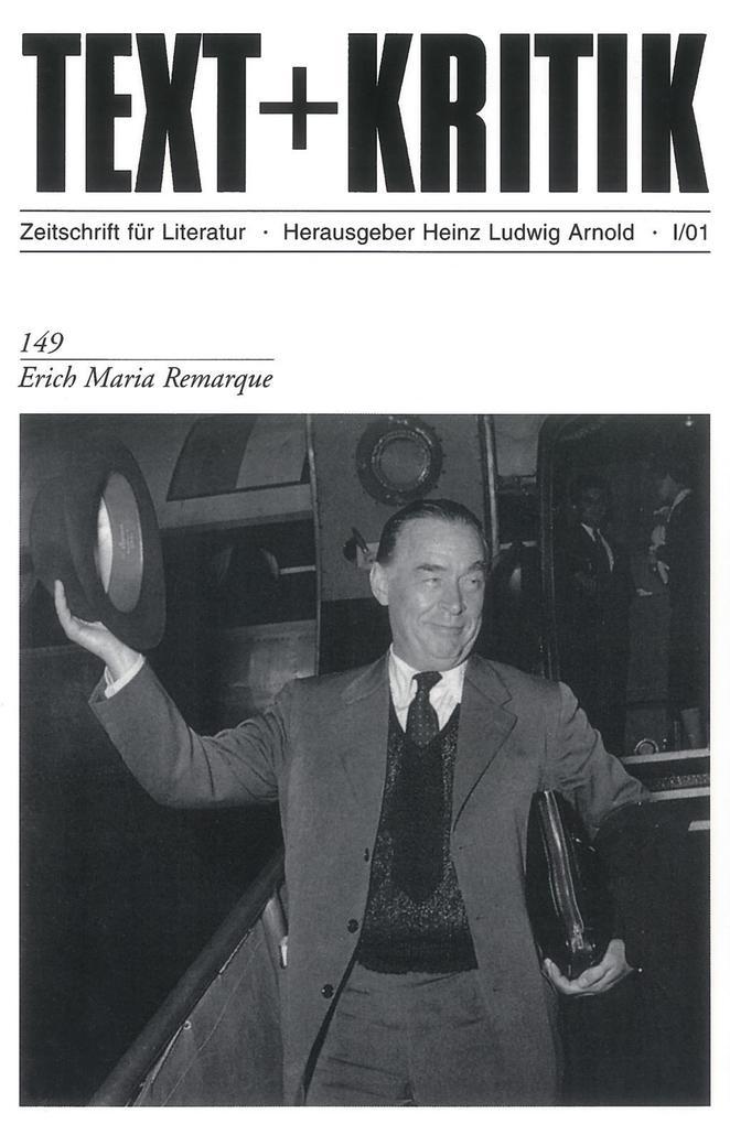 Erich Maria Remarque als Buch