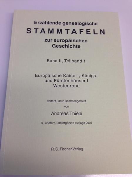 Erzählende genealogische Stammtafeln zur europäischen Geschichte 2, TL 1 als Buch (kartoniert)