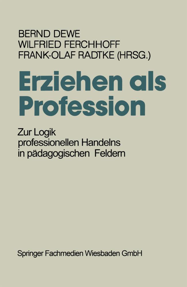 Erziehen als Profession als Buch