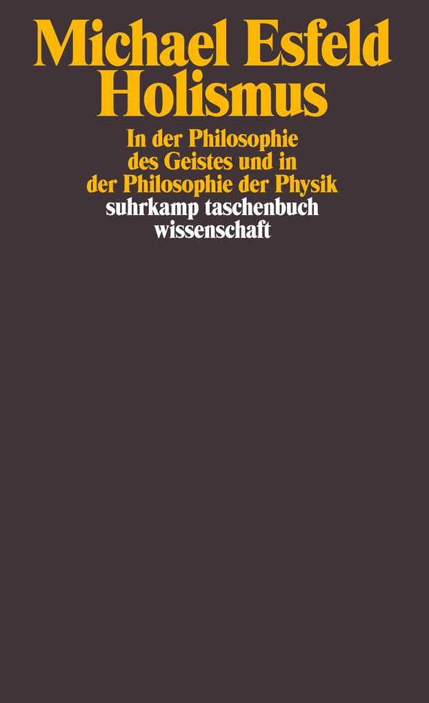 Holismus in der Philosophie des Geistes als Taschenbuch