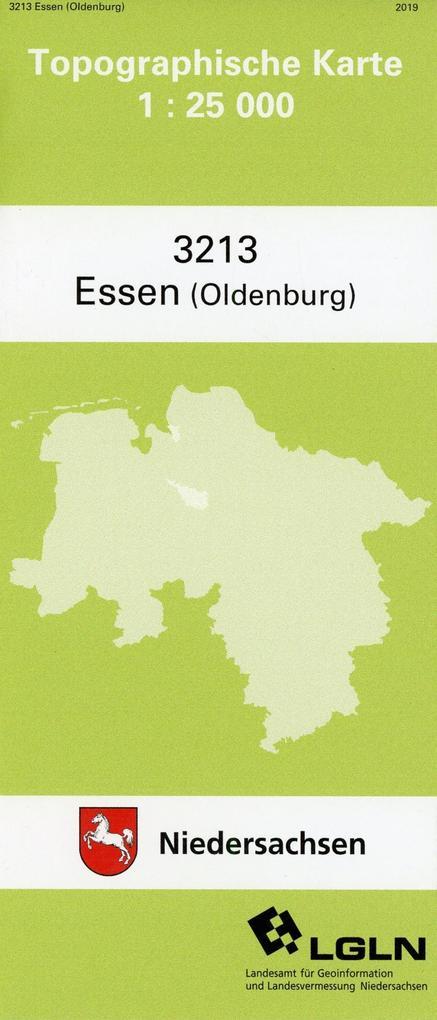 Essen (Oldenb.) 1 : 25 000. (TK 3213/N) als Blätter und Karten