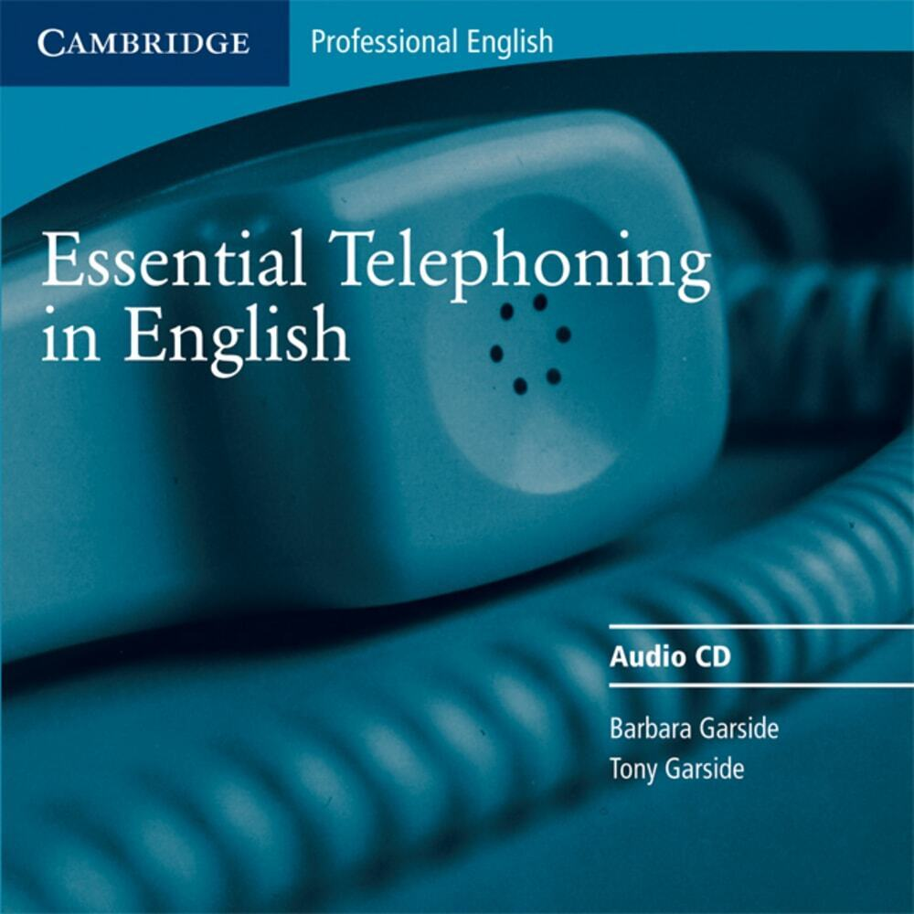 Essential Telephoning in English. CD als CD