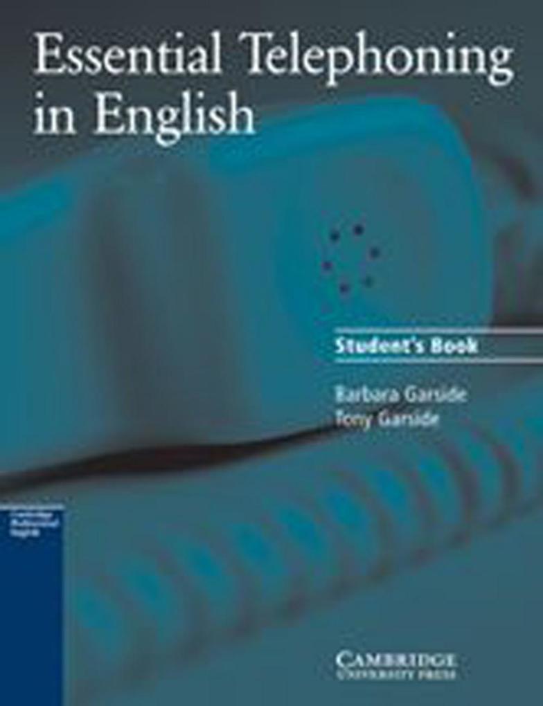 Essential Telephoning in English. Schülerbuch als Buch (gebunden)