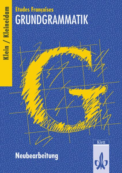 Etudes Francaises Grundgrammatik. Neubearbeitung als Buch (kartoniert)