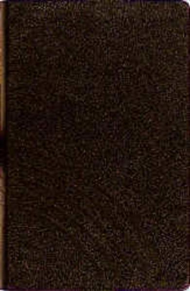 Evangelisches Gesangbuch für Sachsen. Schwarz mit Goldschnitt als Buch (Ledereinband)