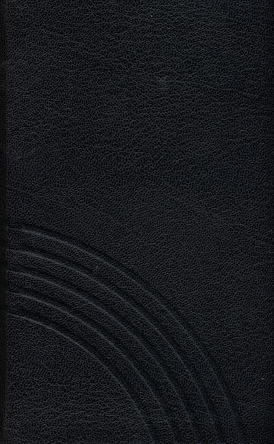 Evangelisches Gesangbuch (schwarz) als Buch (Ledereinband)