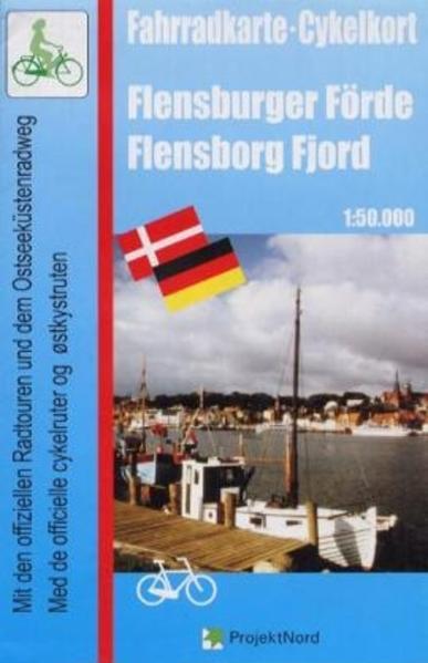 Fahrradkarte Flensburger Förde 1 : 50 000 als Blätter und Karten