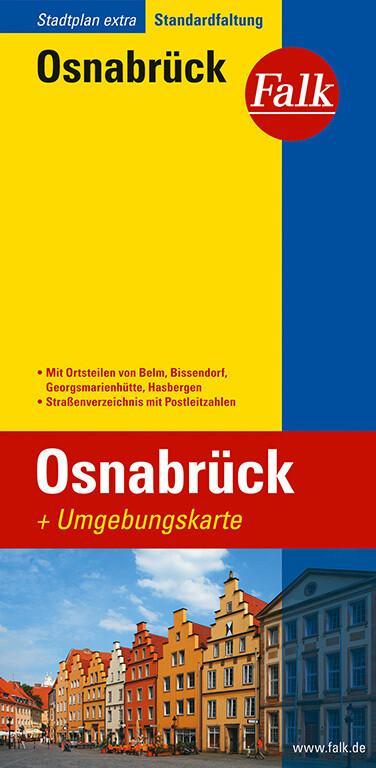 Falk Stadtplan Extra Standardfaltung Osnabrueck als Buch