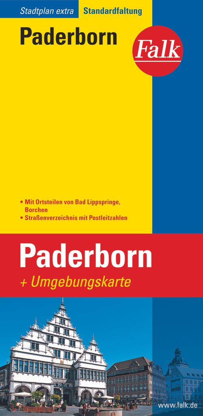 Falk Stadtplan Extra Standardfaltung Paderborn 1 : 20 000 als Buch