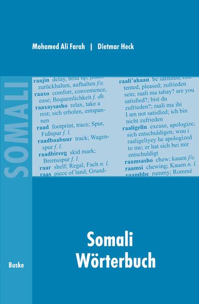 Somali Wörterbuch als Buch (kartoniert)