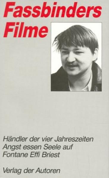 Fassbinders Filme 3 als Buch (kartoniert)