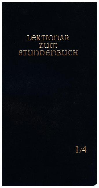 Lektionar - Die Feier des Stundengebetes. Heft 4. 1. - 9. Woche im Jahreskreis als Buch (kartoniert)