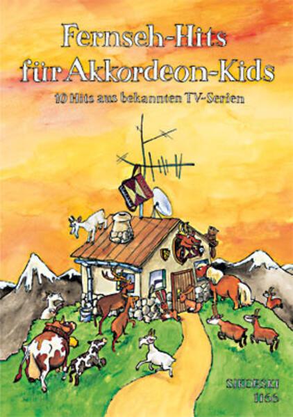 Fernseh-Hits für Akkordeon-Kids als Buch (kartoniert)