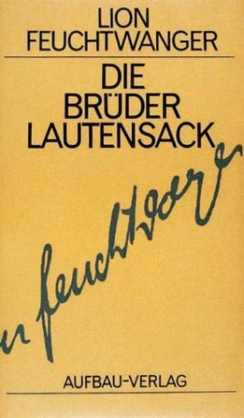 Die Brüder Lautensack als Buch (gebunden)