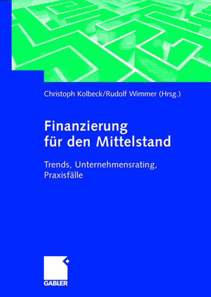 Finanzierung für den Mittelstand als Buch (gebunden)