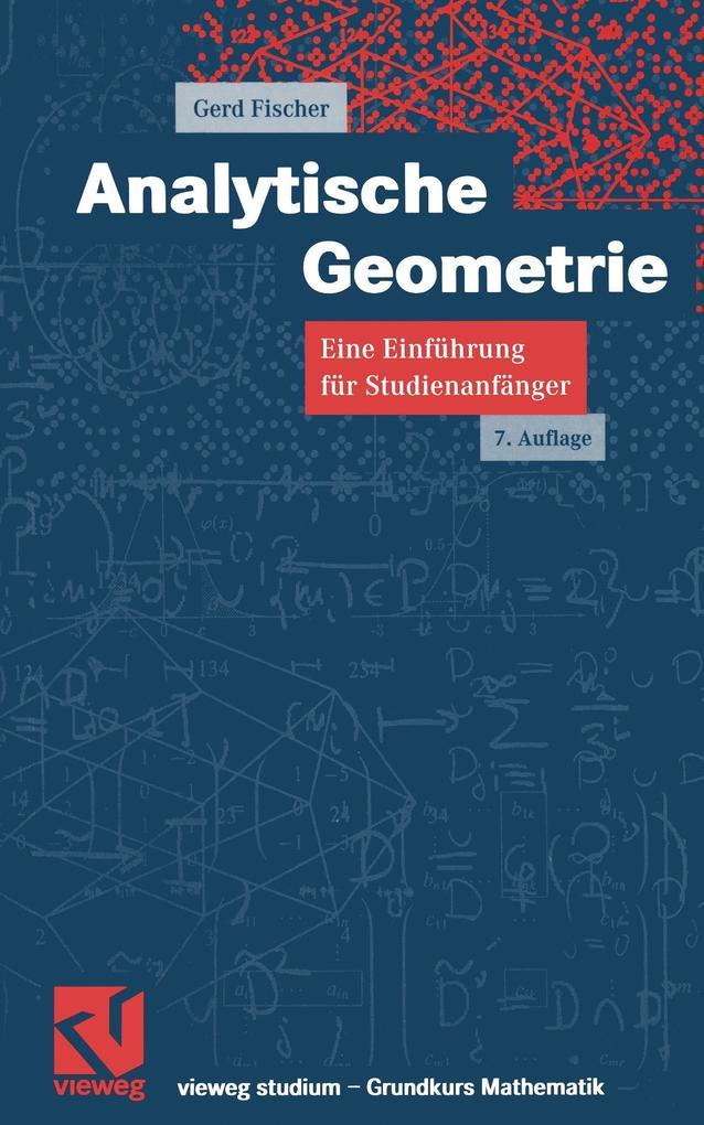 Analytische Geometrie als Buch (kartoniert)