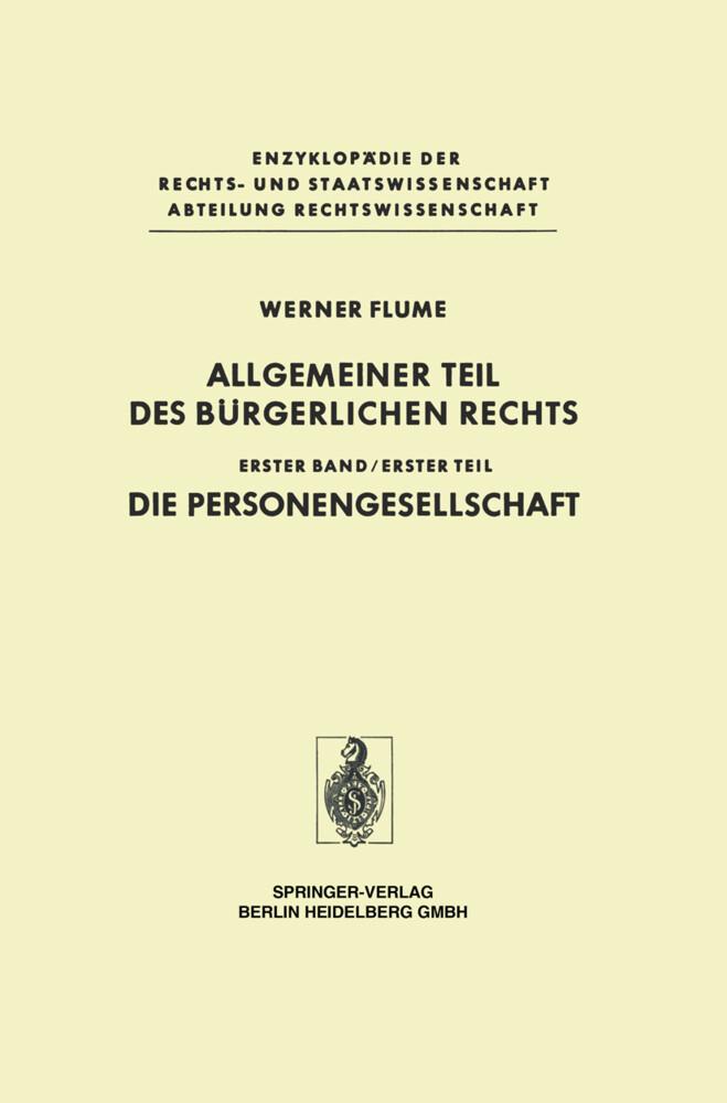 Allgemeiner Teil des Bürgerlichen Rechts als Buch (gebunden)