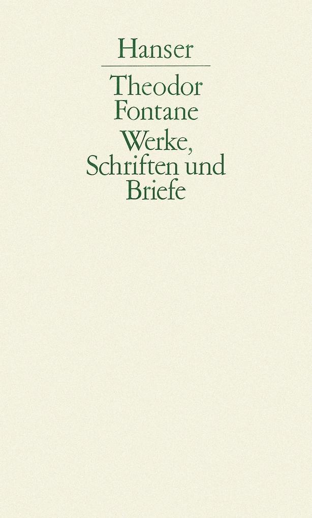Grete Minde / Ellernklipp / Quitt / Unterm Birnbaum / Schach von Wuthenow / Graf Petöfy als Buch (gebunden)