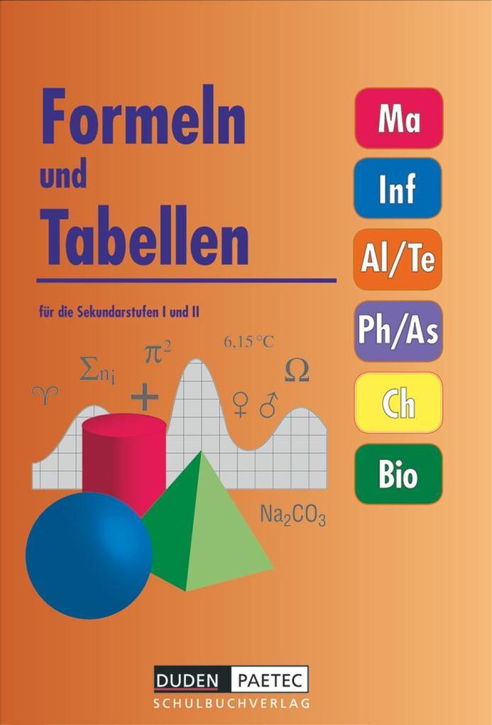 Formeln und Tabellen für die Sekundarstufen I und II als Buch (gebunden)