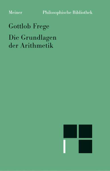 Grundlagen der Arithmetik als Buch (kartoniert)