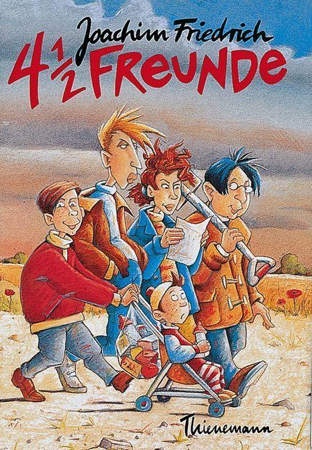 4 1/2 Freunde als Buch (gebunden)