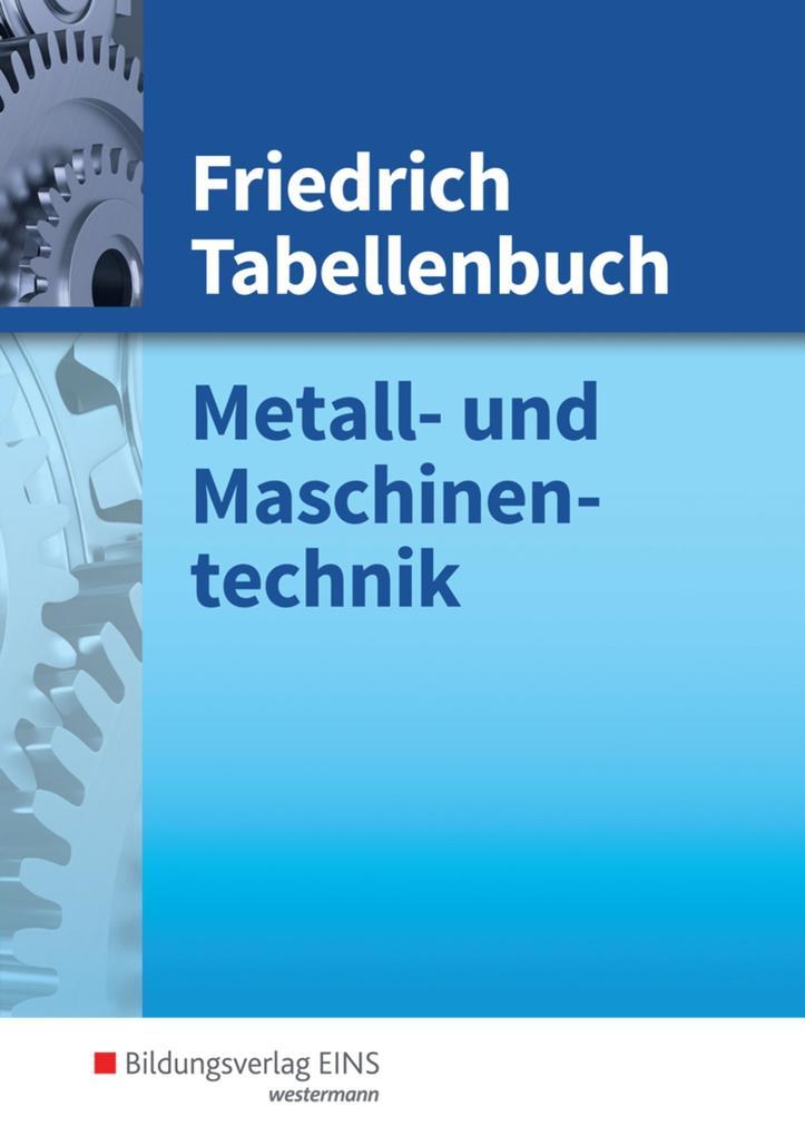Friedrich Tabellenbuch als Buch
