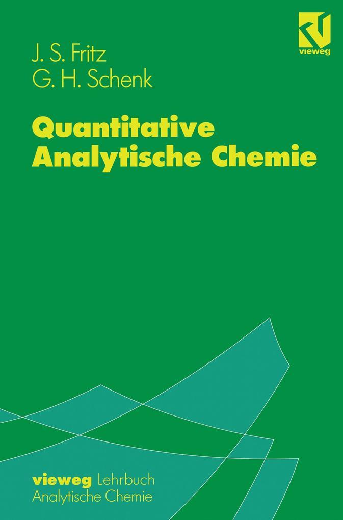 Quantitative Analytische Chemie als Buch (kartoniert)