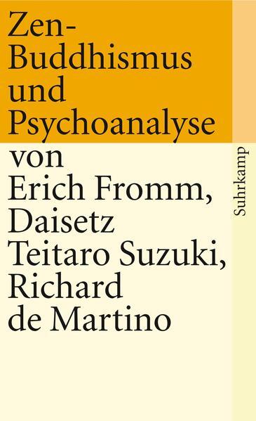 Zen-Buddhismus und Psychoanalyse als Taschenbuch