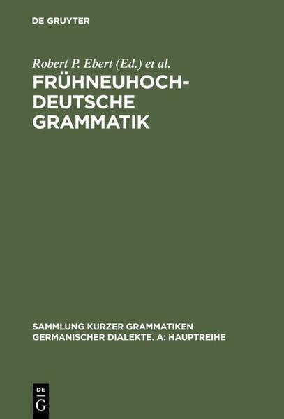 Frühneuhochdeutsche Grammatik als Buch (gebunden)