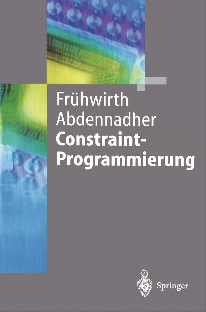 Constraint-Programmierung als Buch (kartoniert)