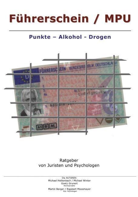 Führerschein / MPU als Buch (kartoniert)