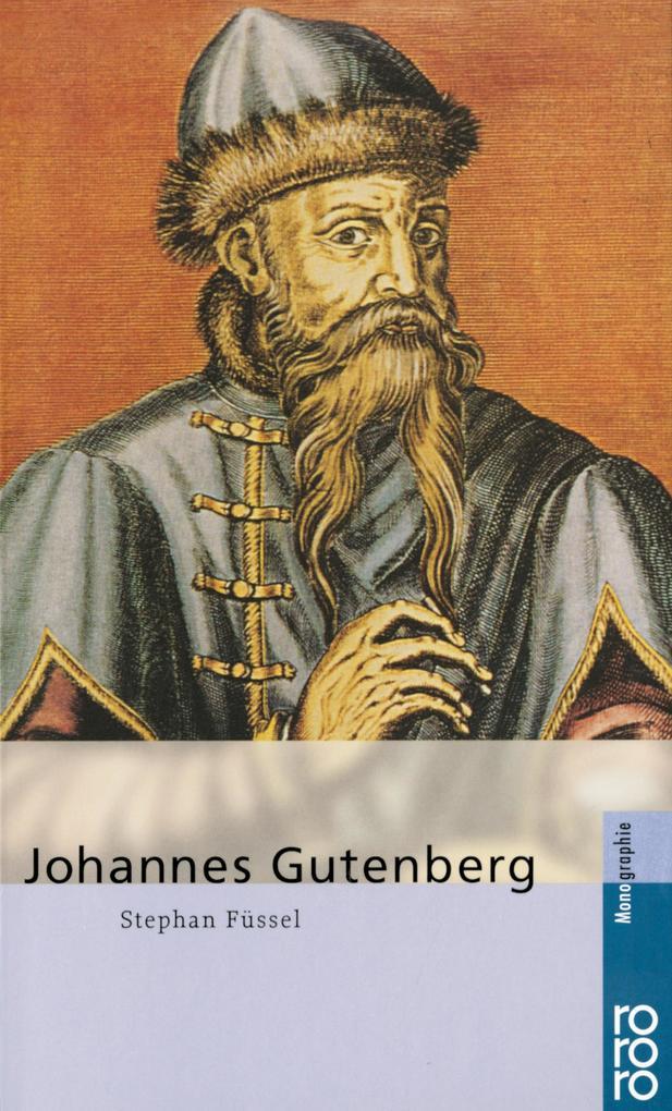 Johannes Gutenberg als Taschenbuch